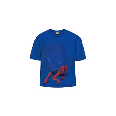 T-shirt Spider Man accroupi...
