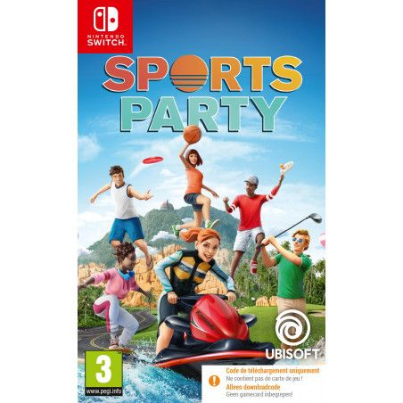 Sports Party (Code-in-a-box) (Switch)