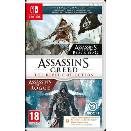 Assassin's Creed : The Rebel Collection (Code-in-a-box) (Switch)