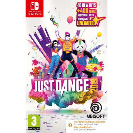 Just Dance 2019 (Code-in-a-box) (Switch)