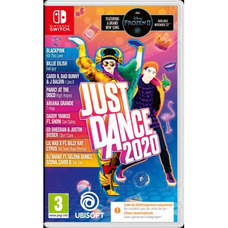 Just Dance 2020 (Code-in-a-box) (Switch)