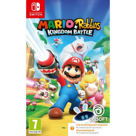 Mario The Lapins Crétins: Kingdom Battle (Code-in-a-box) (Switch)