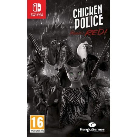 Chicken Police - Paint it RED! (Switch)