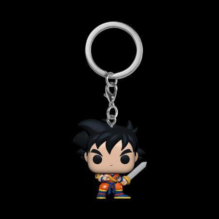 Funko Pocket Pop! Keychain: Dragon Ball Z - Gohan (with Sword)