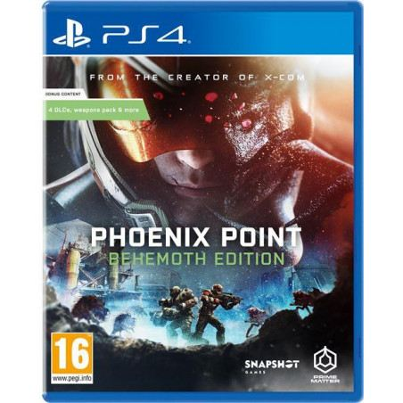 Phoenix Point Behemoth Edition (PS4)